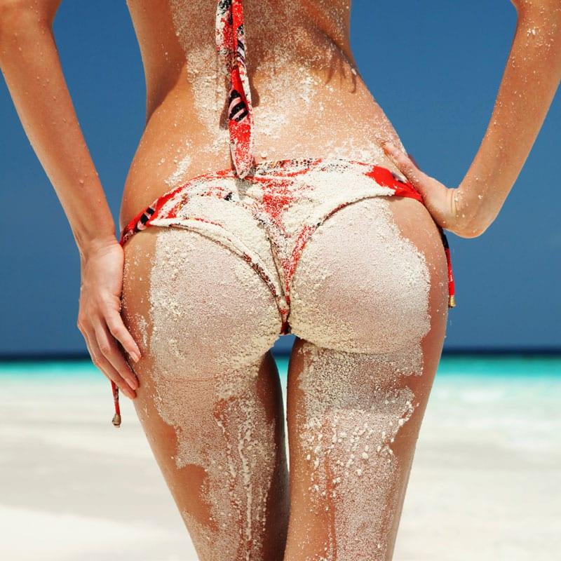 summer, sand, woman
