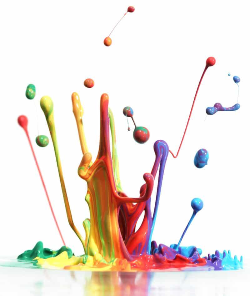 paint color splash
