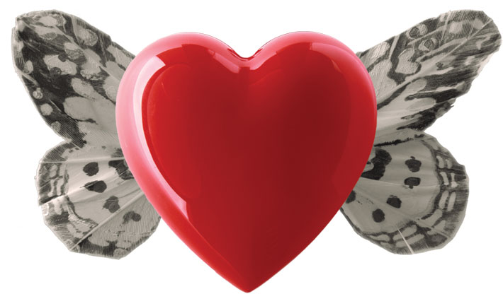heart-butterfly - Η καρδιά ως διαχρονικό νόημα και σύμβολο