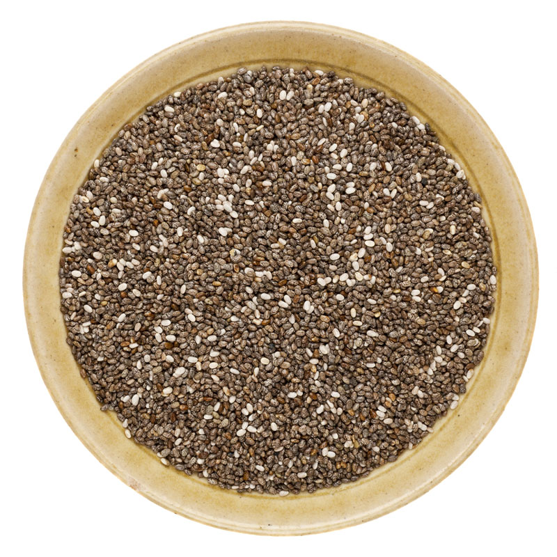 chia seeds _bowl