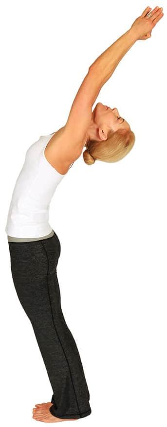 woman, yoga practice