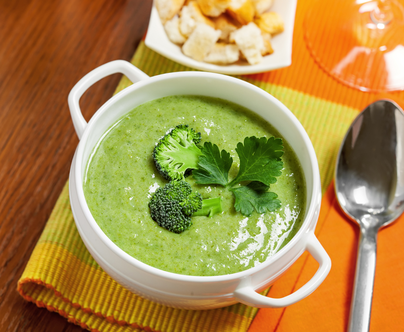 brocolli-spinach-soup