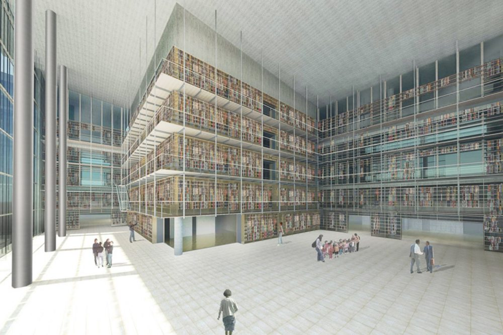 imagegen-Mετακομίζει η Εθνική Βιβλιοθήκη στο «Ίδρυμα Σταύρος Νιάρχος».