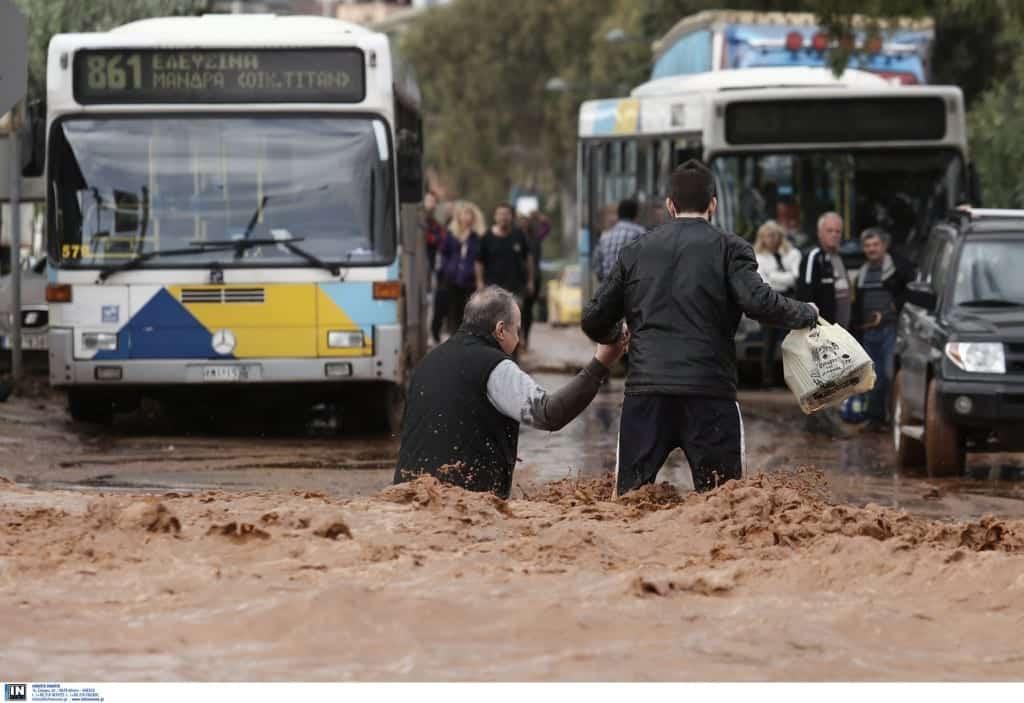 Ποιες περιοχές της Αττικής είναι οι ευάλωτες σε πλημμυρικά φαινόμενα;