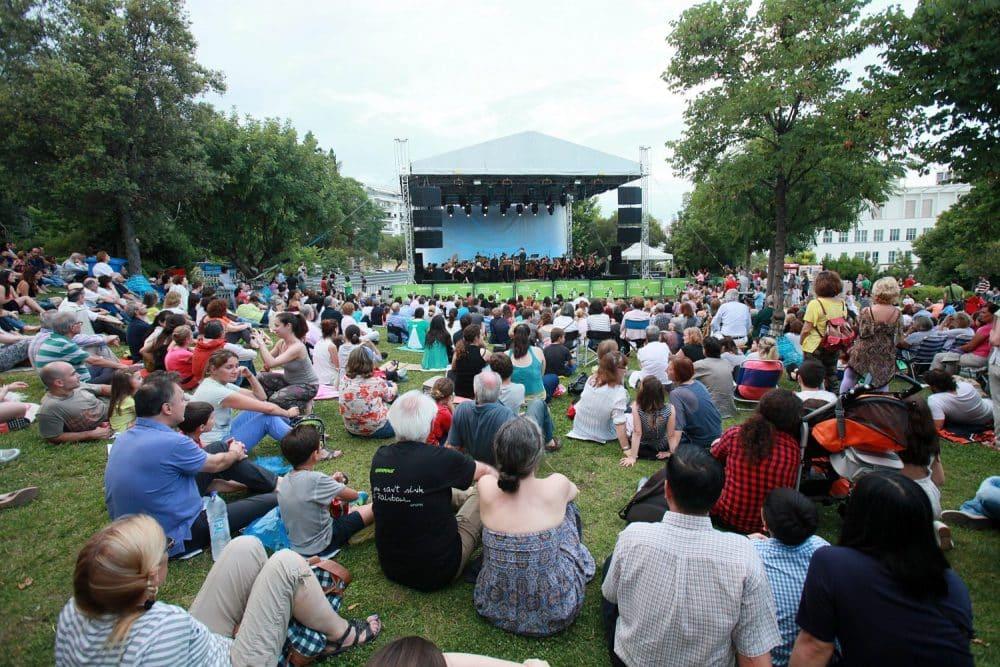 Συναυλίες στον Κήπο του Μεγάρου 2018-Γιορτή μουσικής